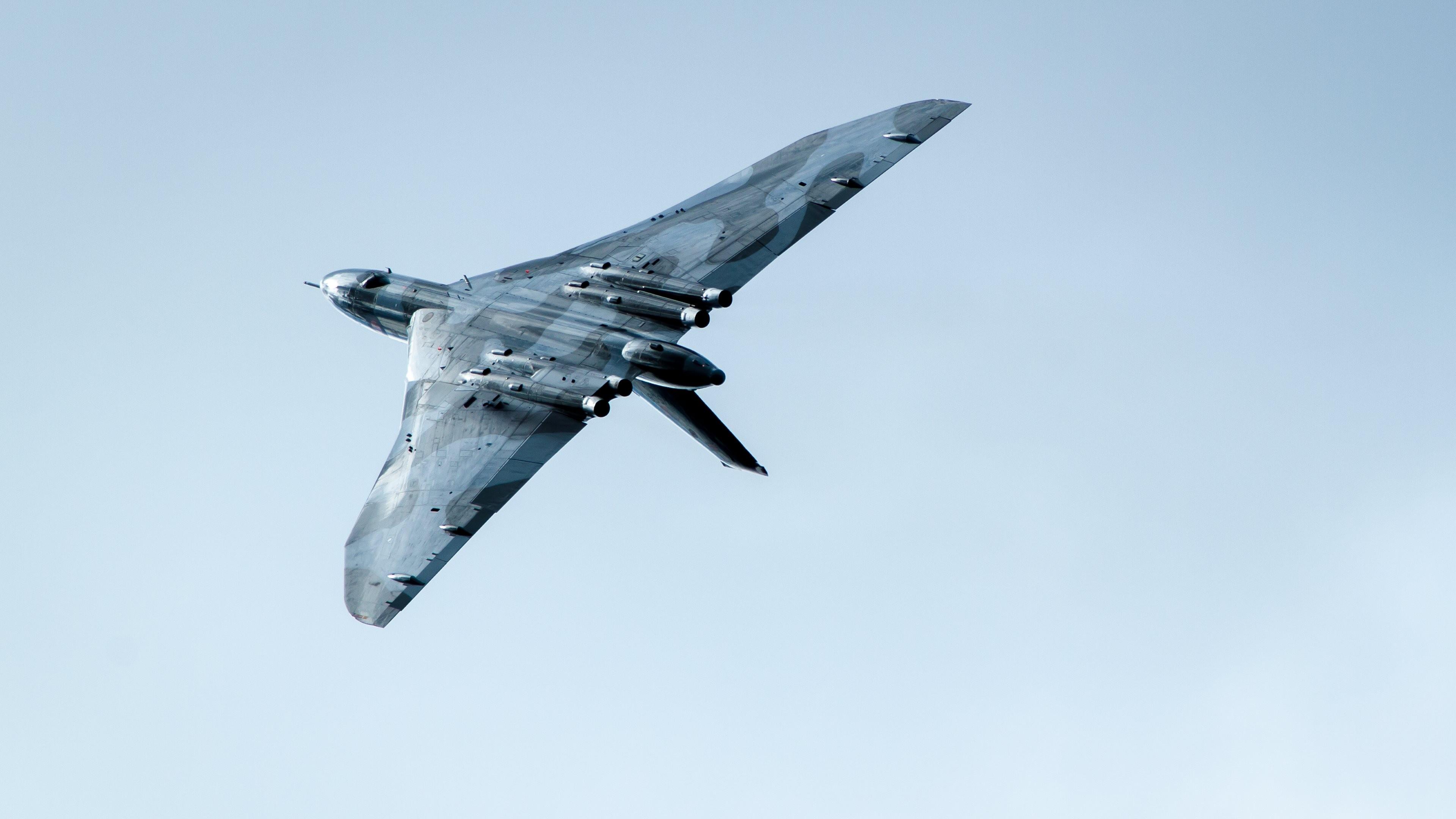 Обои Vulcan, Самолёт, bomber. Авиация foto 16