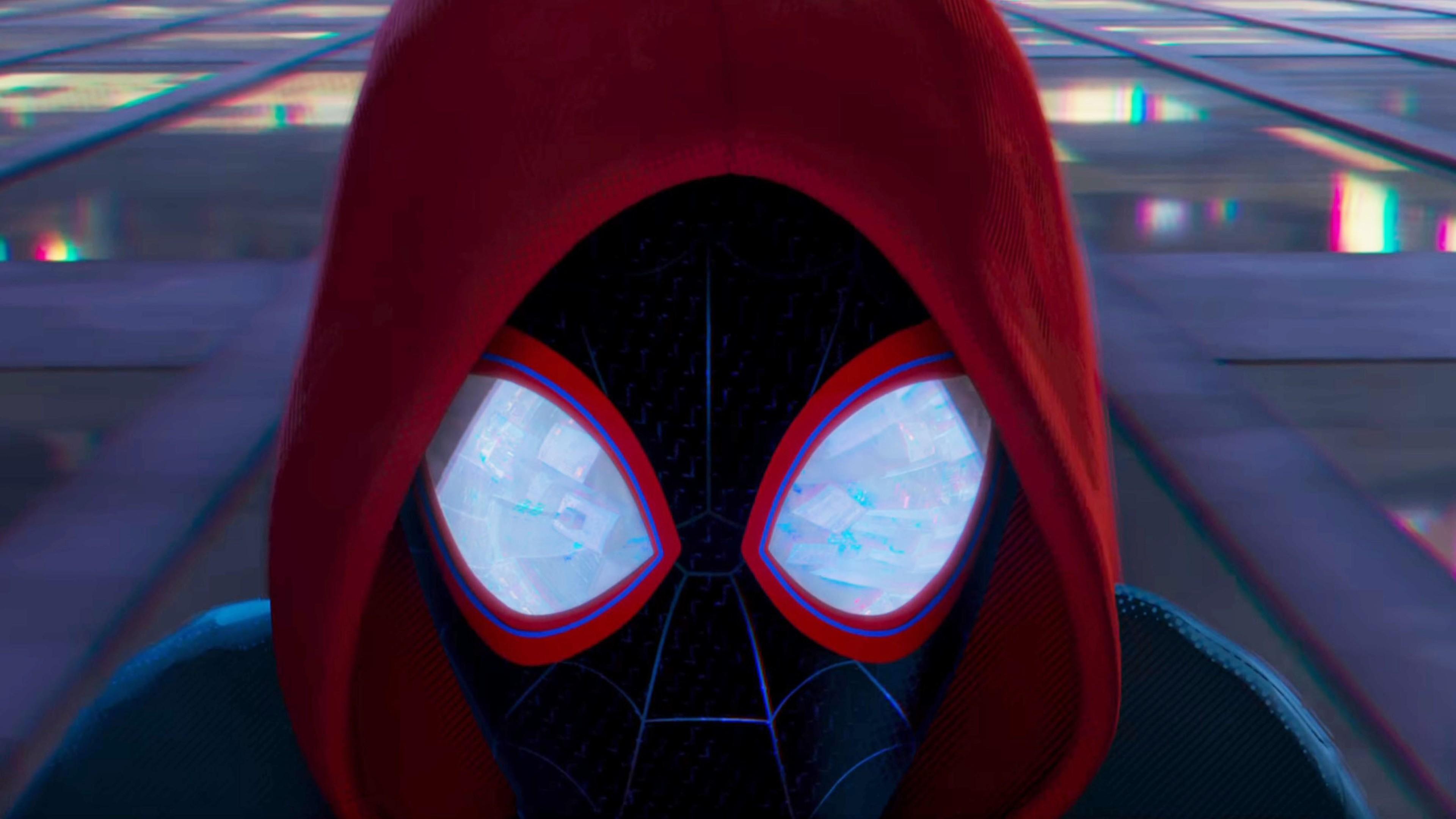 Смотреть картинки человек паук через вселенные