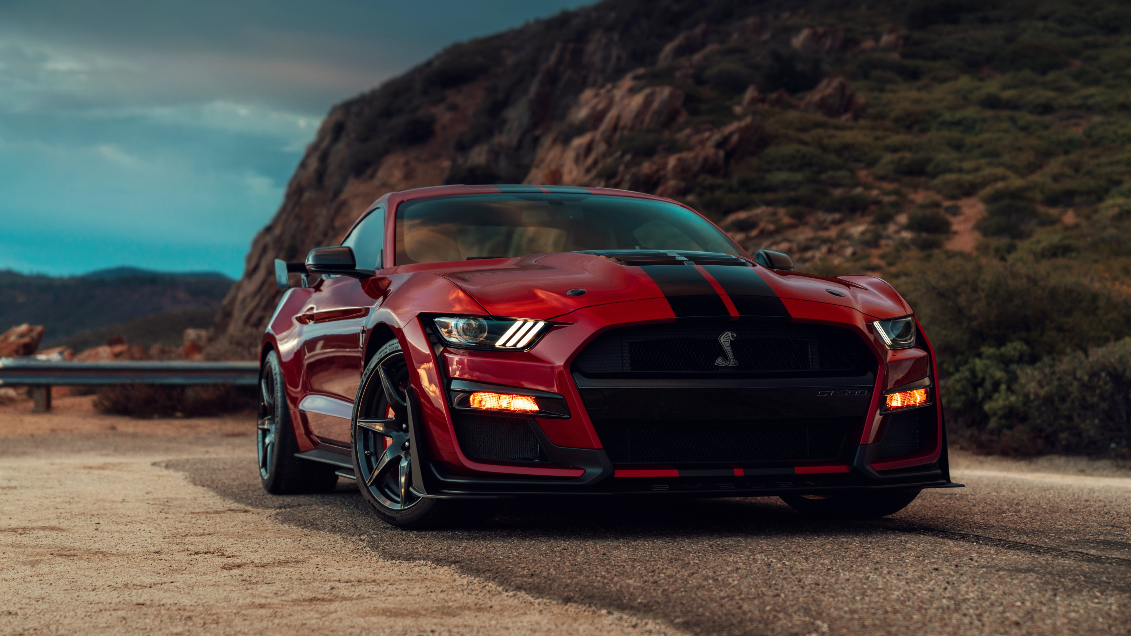Обои Ford Mustang Shelby Gt500 2020 Cars 2019 Detroit