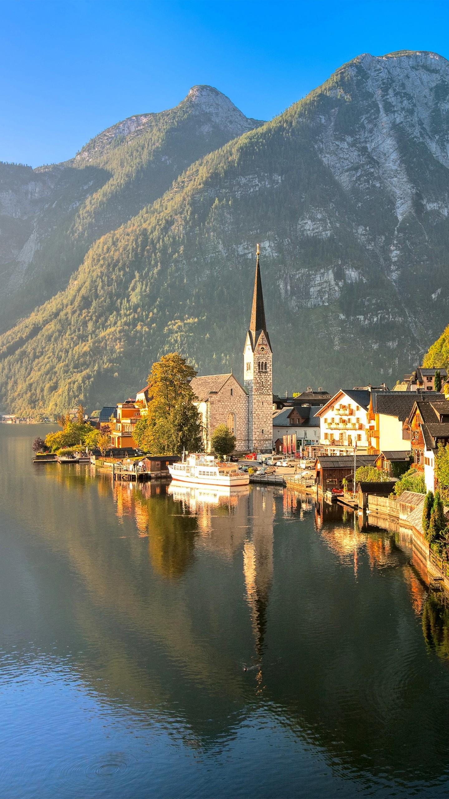 Обои австрия, курорт, ночь, austria. Города foto 19