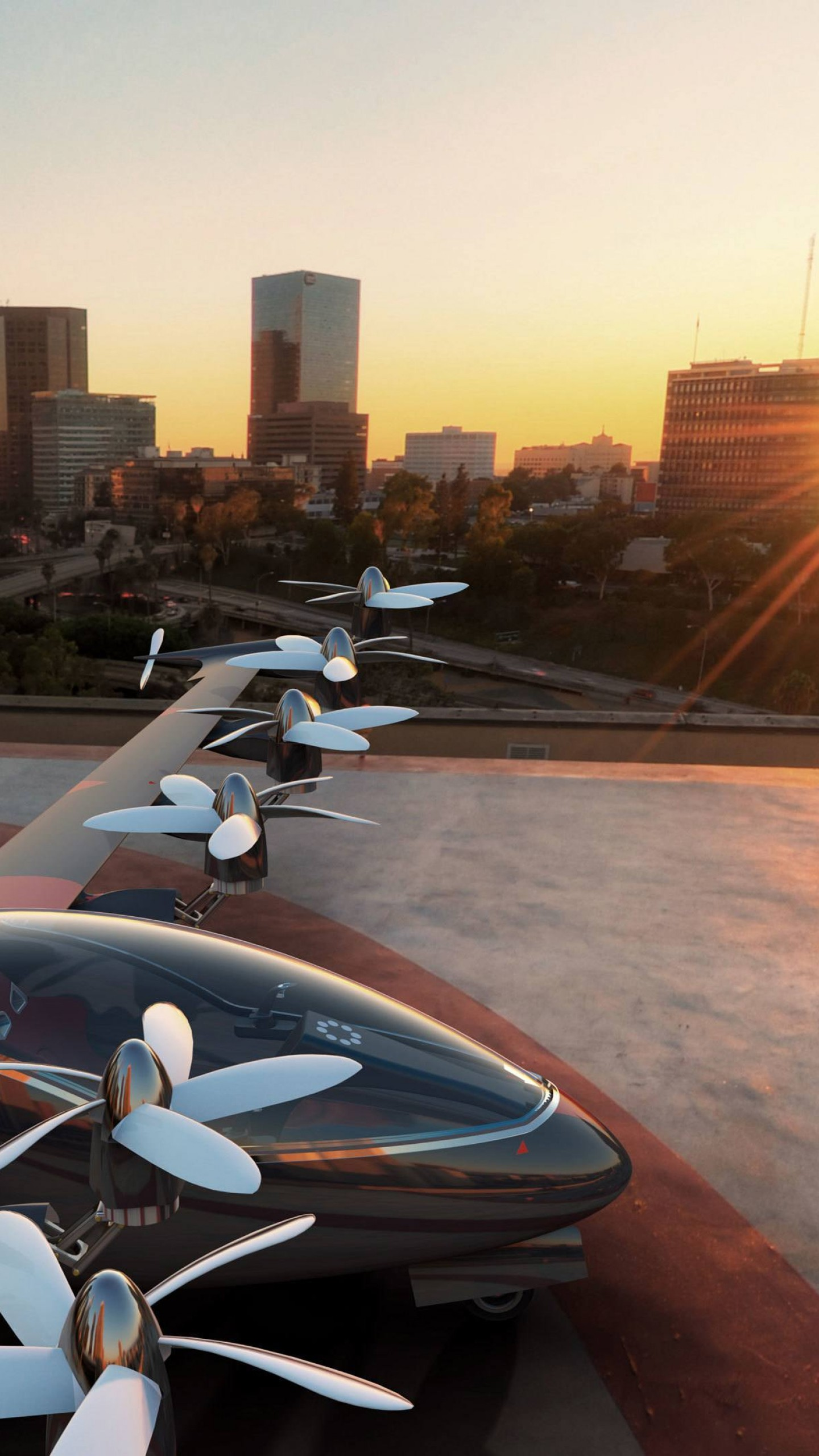 Обои Drone, aerial vehicle, concept, Joby S2. Авиация foto 7