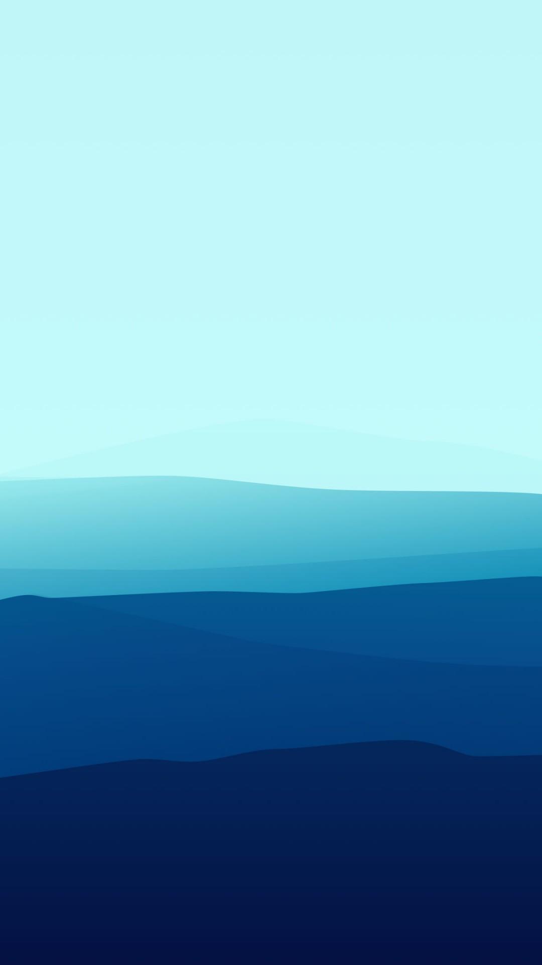 обои лес туман 4k 5k Iphone обои голубой Landscape