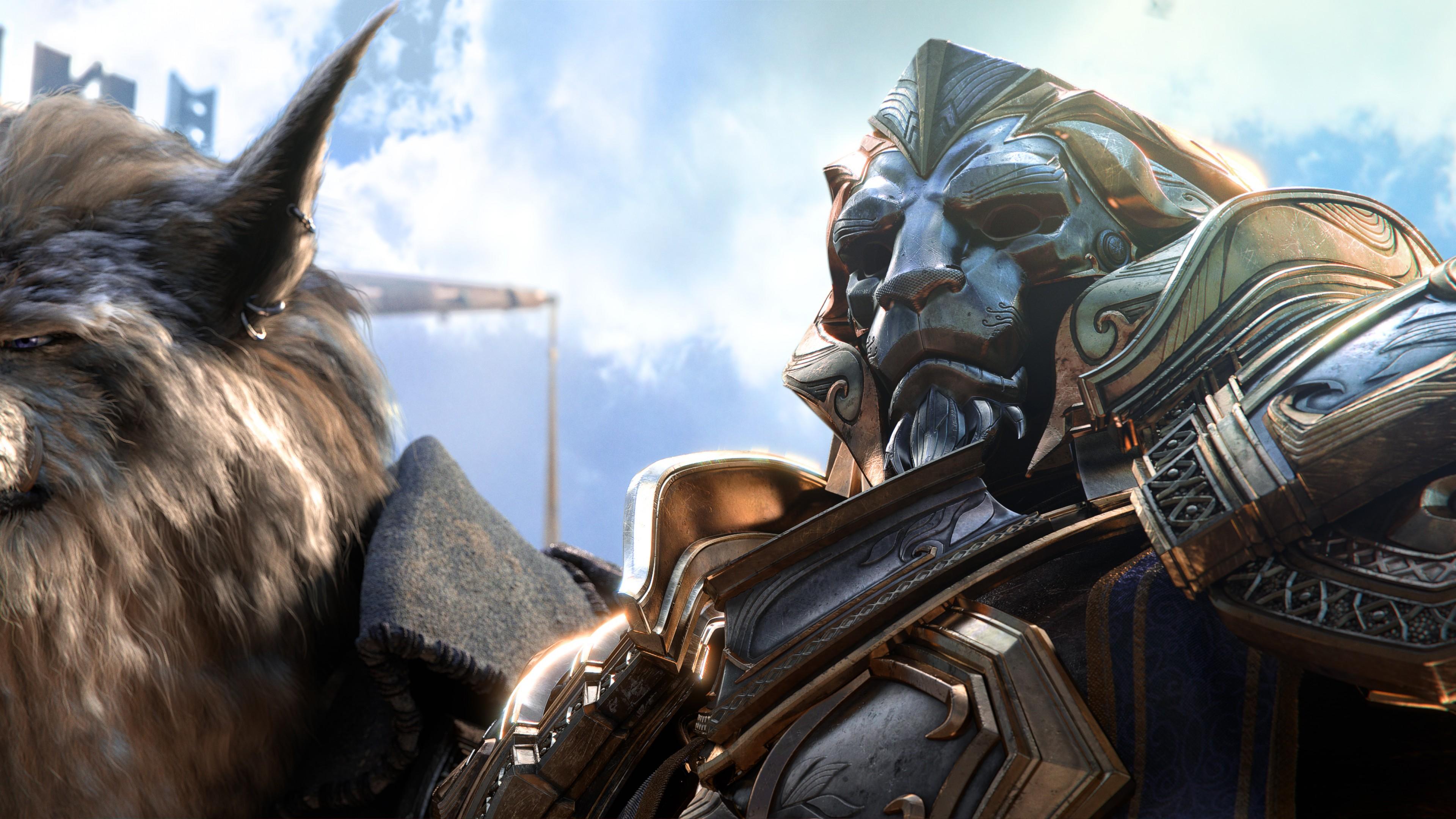 обои лучшие игры World Of Warcraft Battle For Azeroth