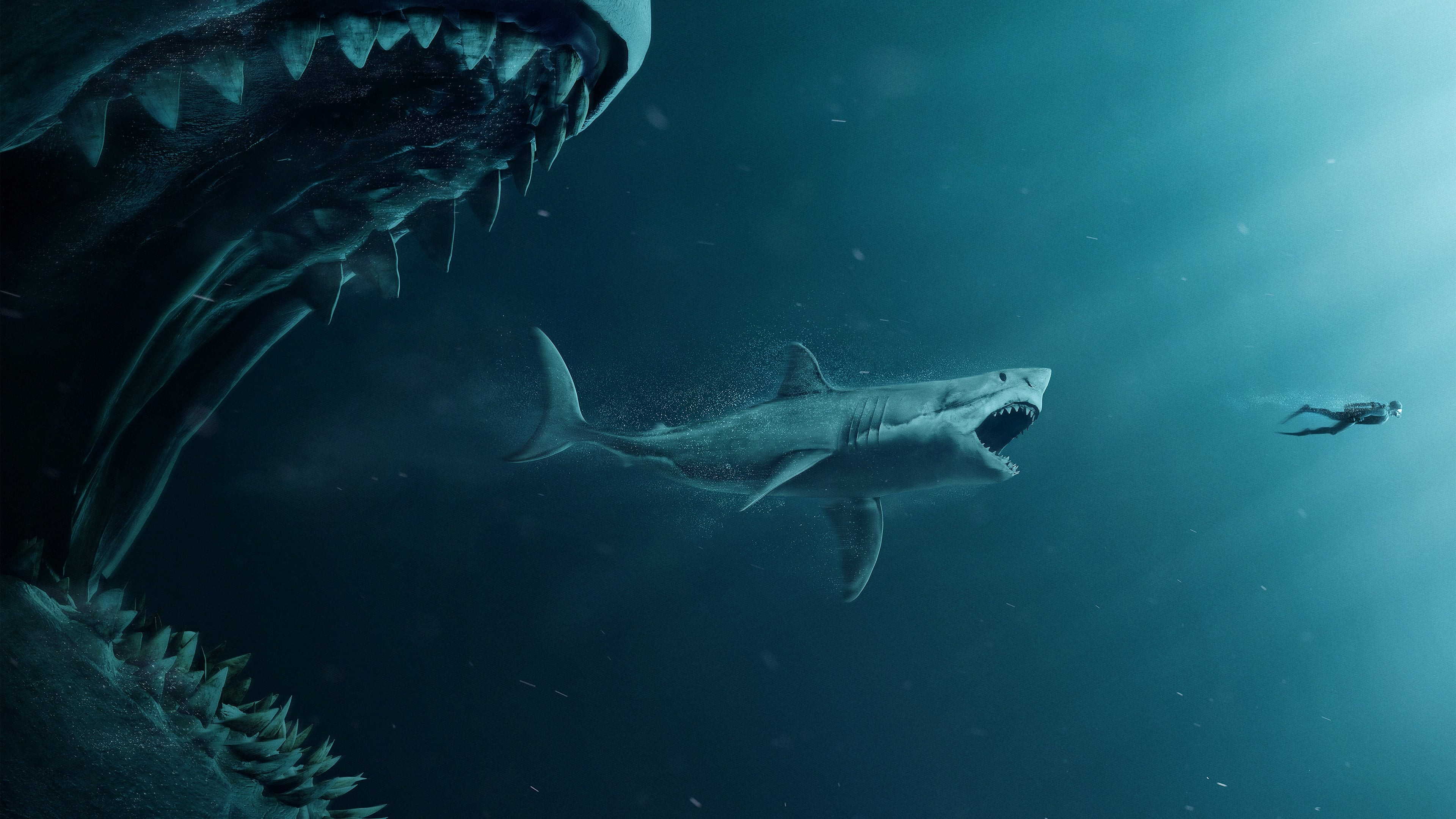 megalodon shark movie - HD 1920×1200
