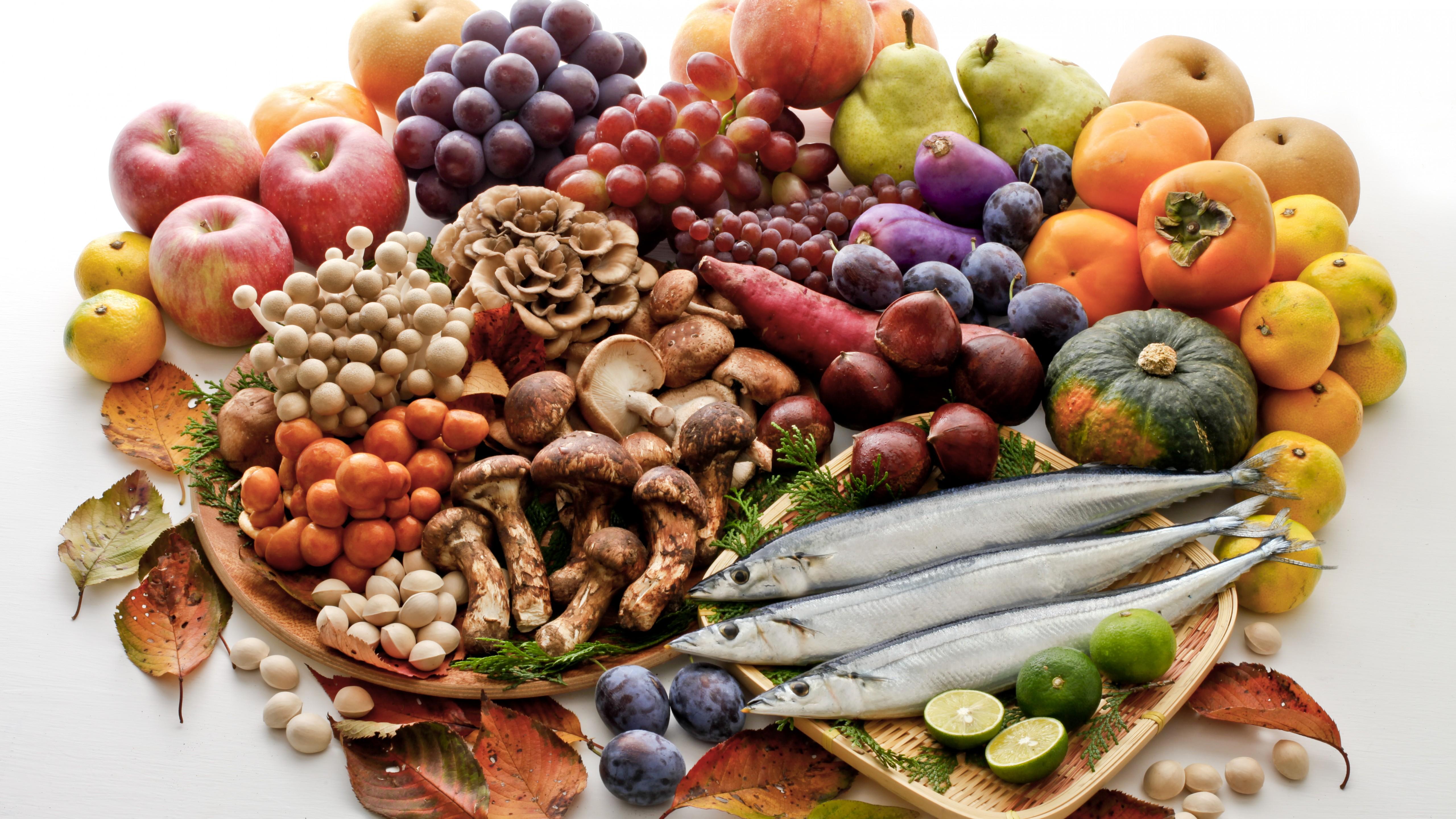 Обои Грибы, фрукты, овощи. Праздники foto 9