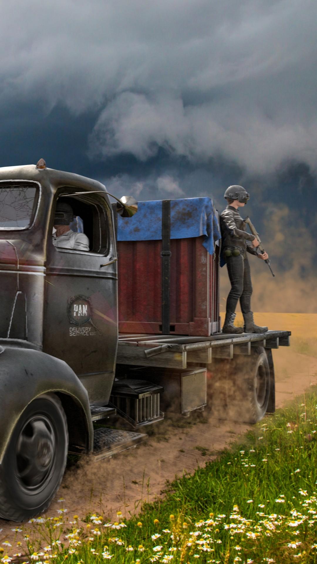 Обои ПАБГ, PlayerUnknown's Battlegrounds, artwork, poster ...