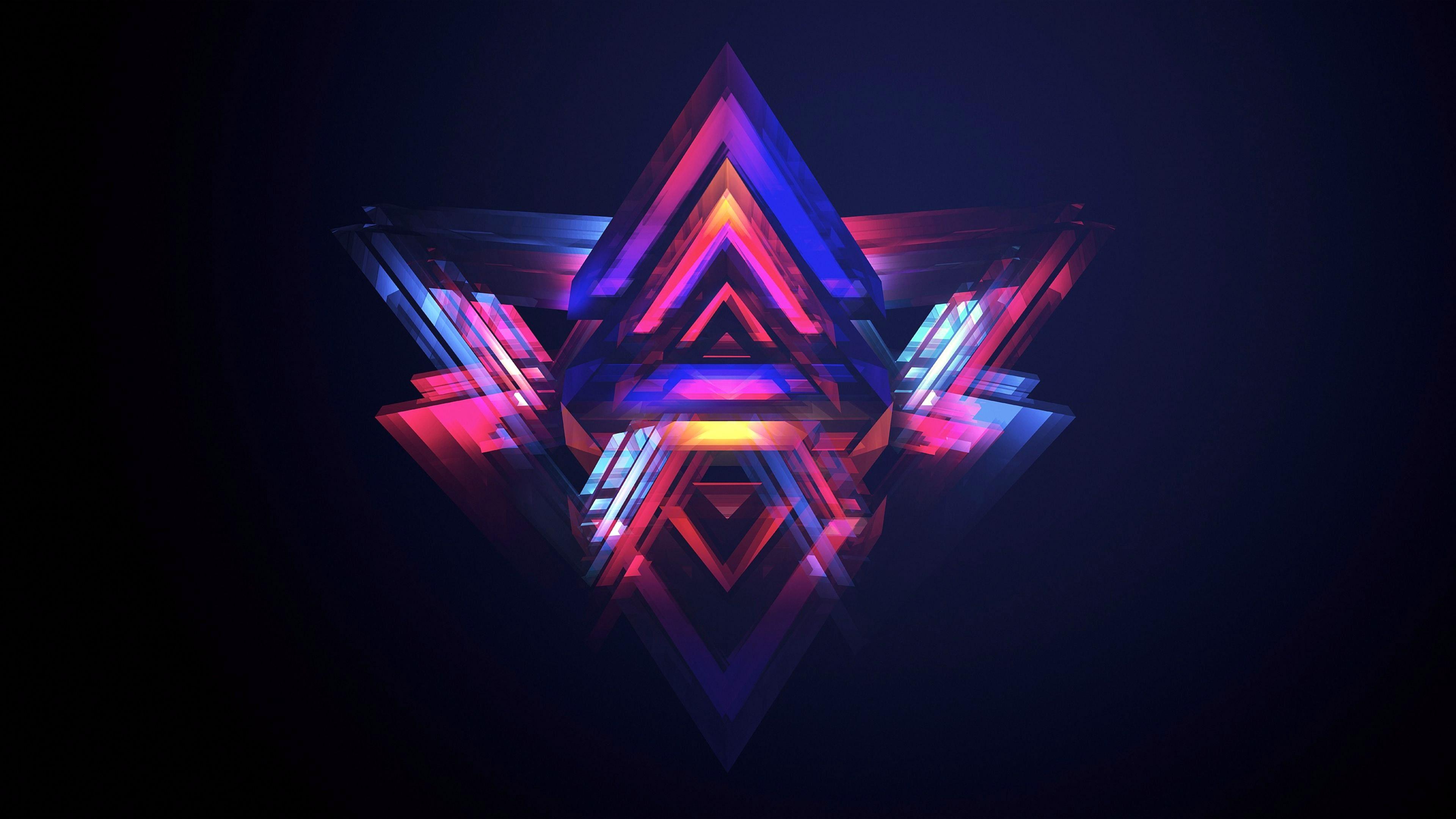 triangle background hd wallpaper - HD2133×1200