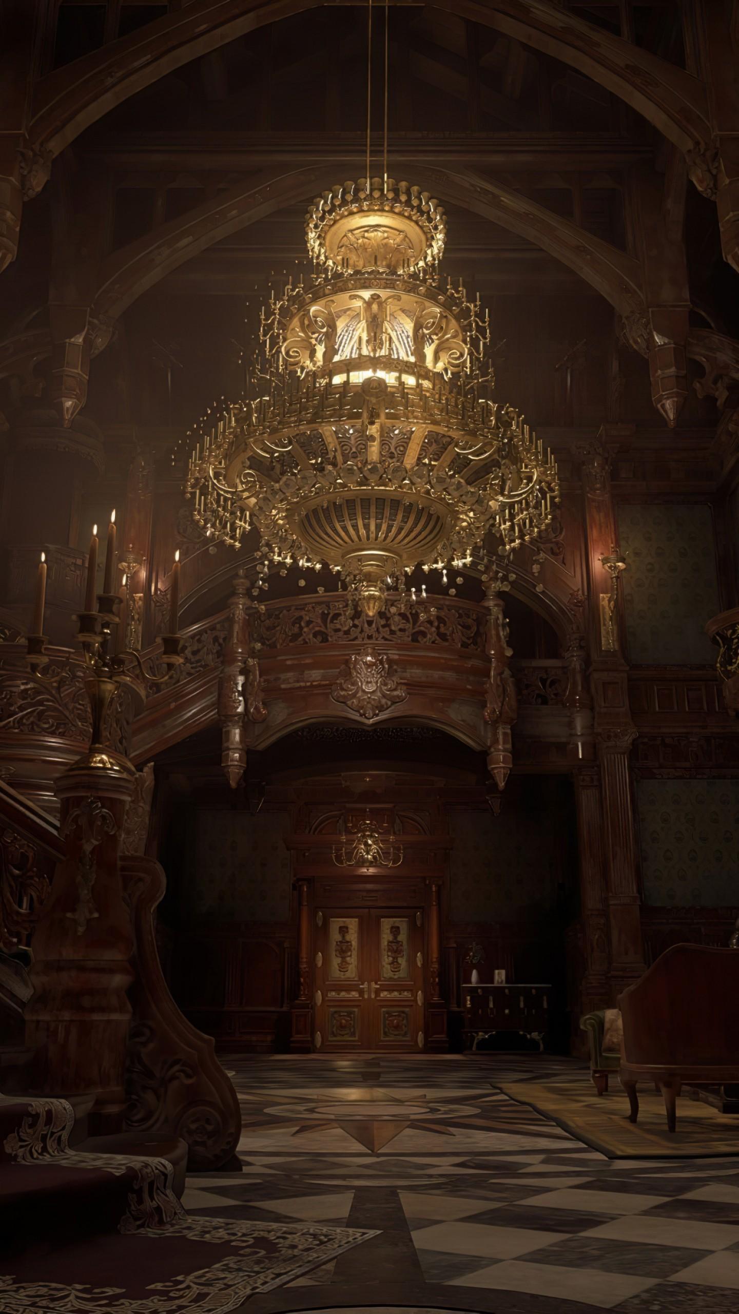 Обои Resident Evil Village, screenshot, 4K, PlayStation 5 ...