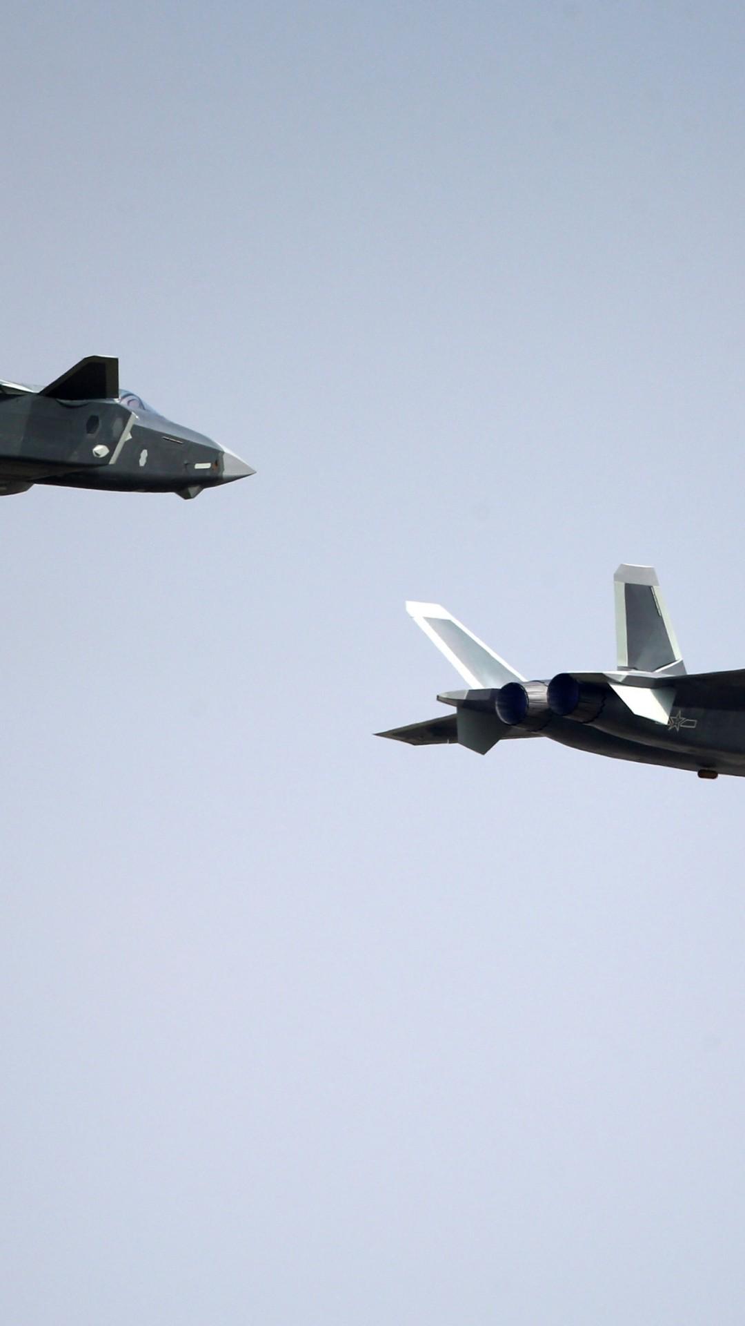 Обои j-20, Самолёт, ввс, истребитель, китайский. Авиация foto 12
