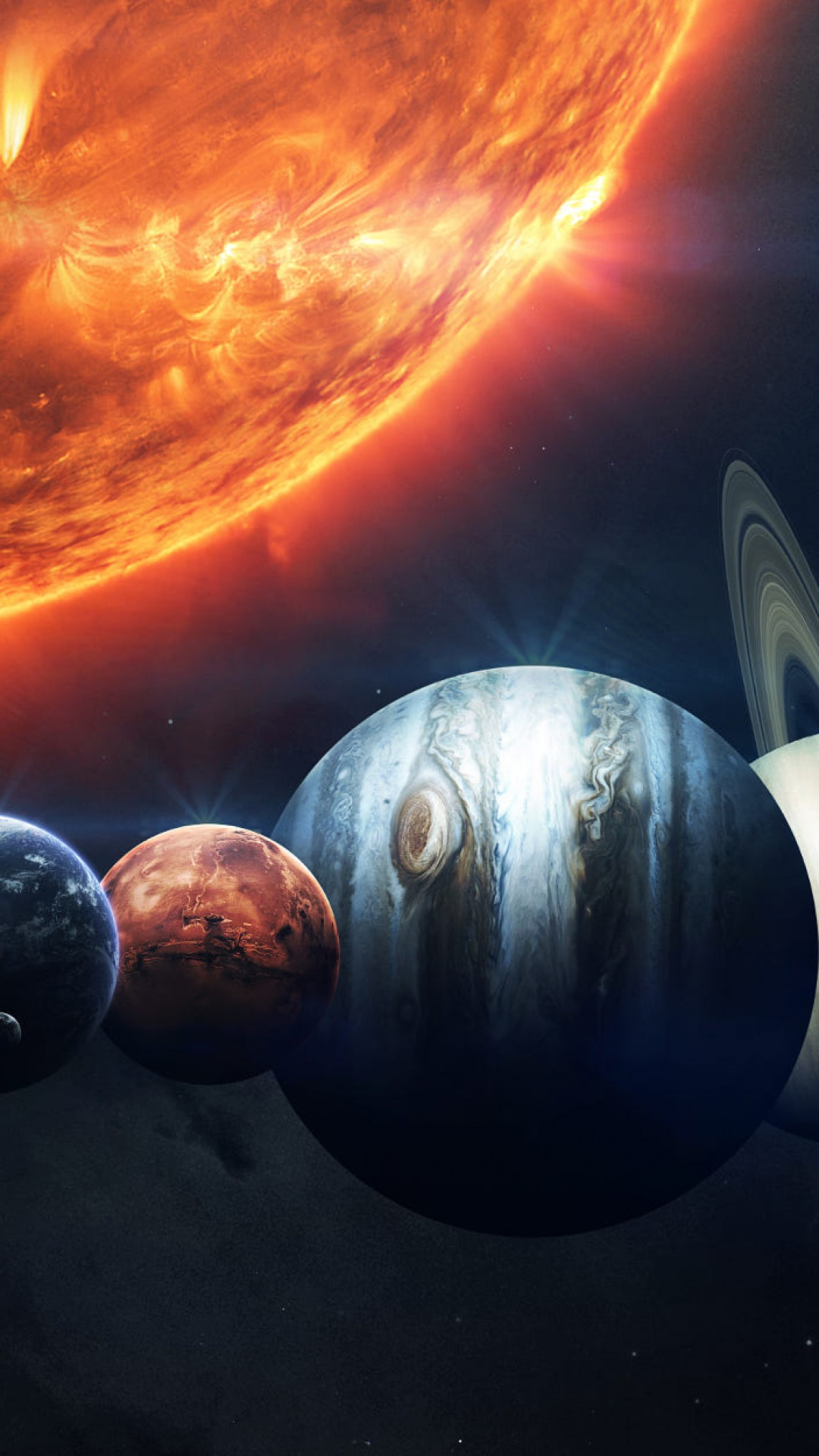 All about Sun Moon Mars Jupiter Mercury In Houses Planets In