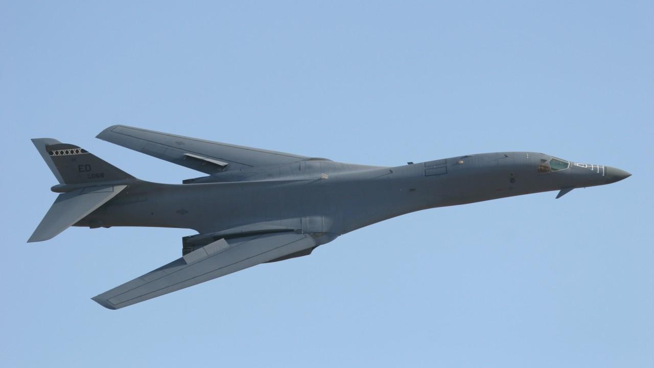 Обои сверхзвуковой, B-1b, стратегический. Авиация foto 18