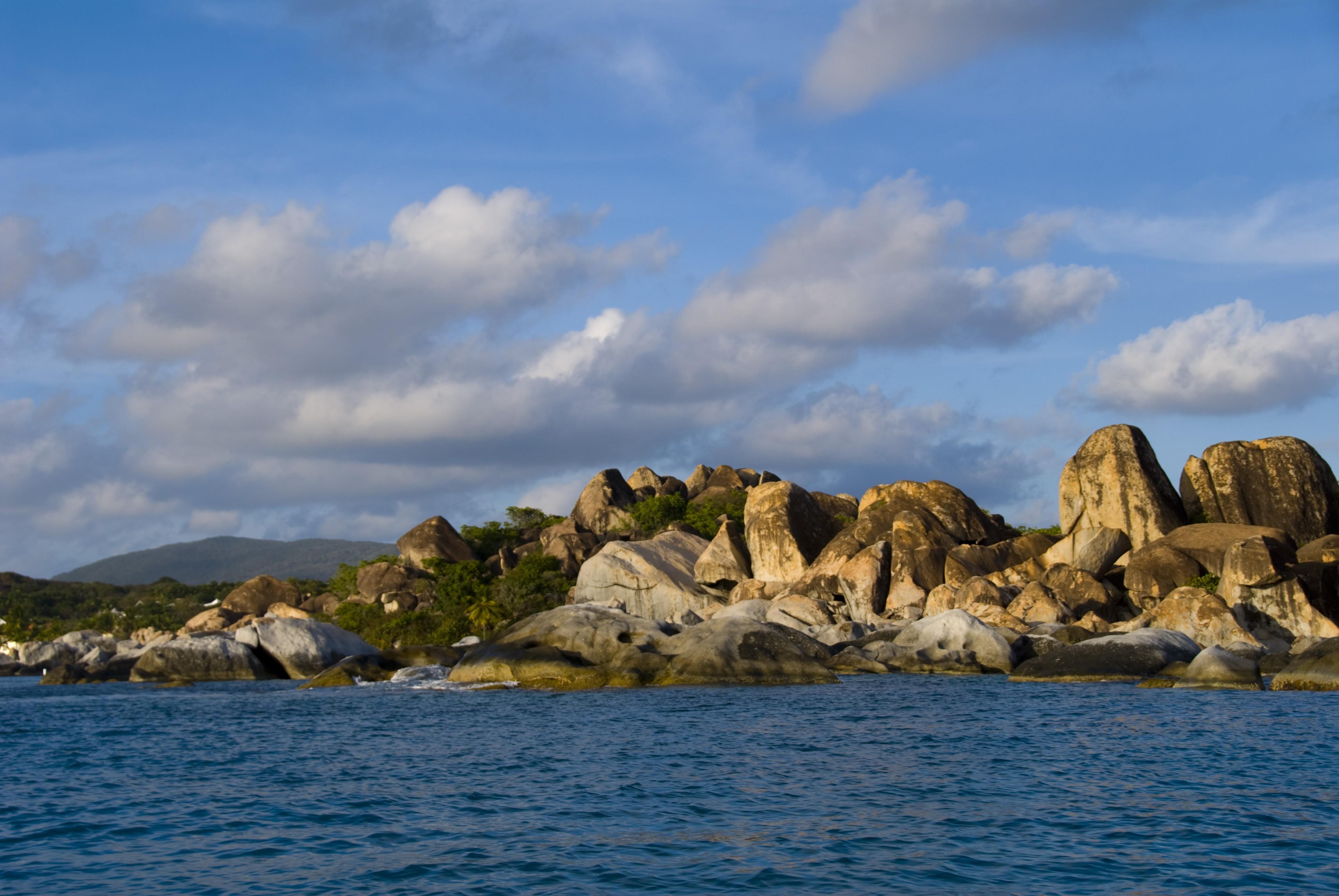 The Baths, Virgin Gorda Island, British Virgin Islands, West Indies  № 1471433  скачать