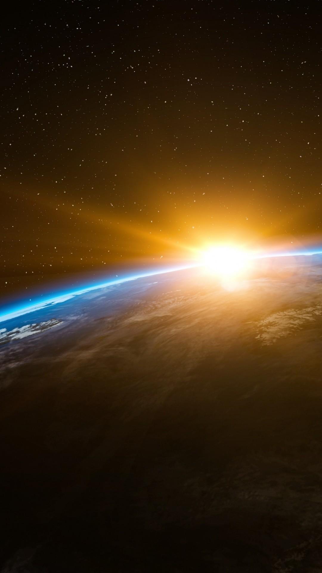 Обои sunrise, пространство. Космос foto 11